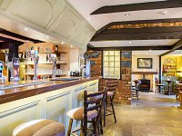 Our bar is fully stocked with hand picked guest ales & splendid wines.